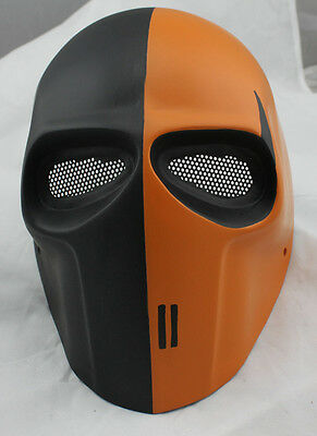 COOL Full Face Protection Fiberglass Resin Mesh Eye Airsoft Paintball Mask M430