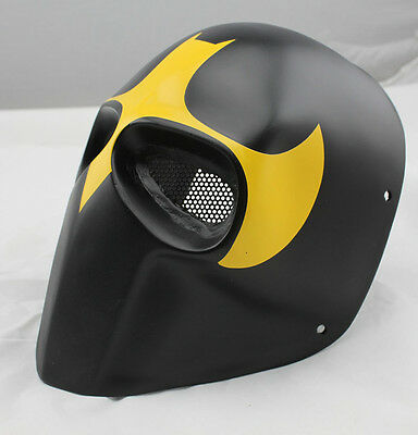 Durable Fiber Resin Wire Mesh Eye Airsoft Paintball Full Face Protection Mask