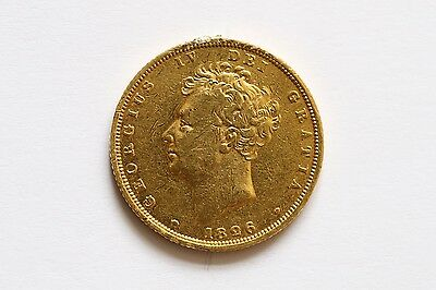 George IV Full Gold Sovereign Dated 1826