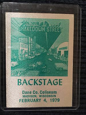 Grateful Dead Backstage Pass Madison, Wisconsin February 4,1979