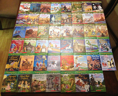 20 Magic Tree House Books for $35 and Free Shipping!