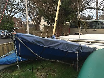 Enterprise Sailing Dinghy And Trailers