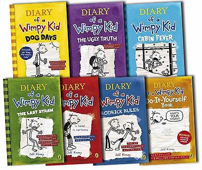 Diary of a Wimpy Kid Books 5 for $18 Free Shipping!