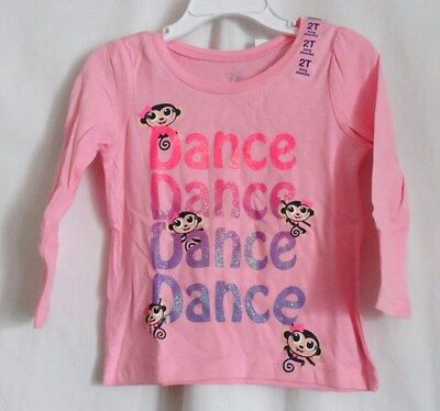 Girls 2T Sparkly Pink To Purple Dance Shirt Nwt ~ The Children's Place