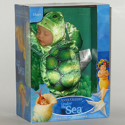 ANNE GEDDES DOLLS SELECTION FOR PLAY OR REBORN NEW IN BOX Gift GREEN TURTLE
