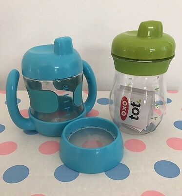 2 Oxo Tot Sippy Cups New And Not Used