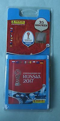 Panini Confederation Cup FIFA 2017 Russia  7 packs 35 stickers