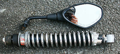 Piaggio Fly 125 Fly125 2012 12 Shock Absorber Shocker Rear View Mirrors