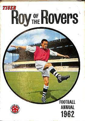 tiger Roy of the Rovers football annual 1962, Acceptable Condition Book, , ISBN