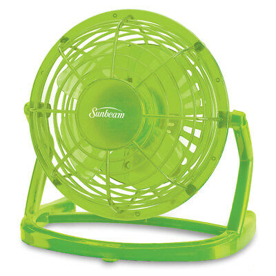 "Sunbeam® Cool Me™ 4"" Plastic USB Fan SNF0411-CAD-MASTER"