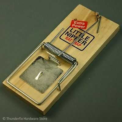Rat Trap Wooden Little Nipper Instant Rodent And Pest Control Extra