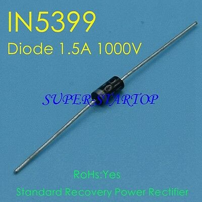 10 PCS 1N5399 IN5399 DO-15 Rectifier Diode 1.5A 1000V New