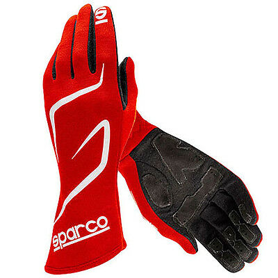 Sparco Land RG-3.1 Race Gloves RED Size M SPA00130810RS