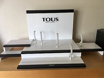 New - TOUS Display Expositor + 15 Supports for Watches Montres Relojes - Nuevo