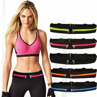 Waterproof Cycling Travel Sports Jogging Running Cycling Waist Belt Bag Pouch