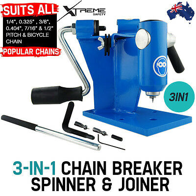 Pro Series Ultimate Baumr-AG 3 In 1 Chainsaw Chain Spinner and Joiner Breaker