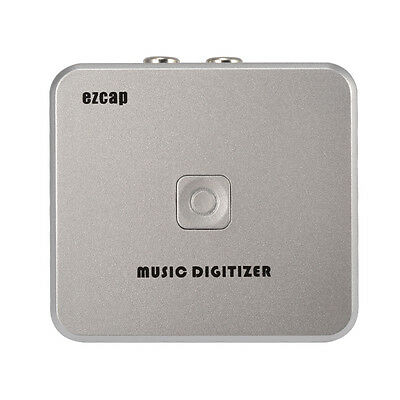Audio Music Digitizer Capture Analog Music to Digital MP3 Converter RCA AH314