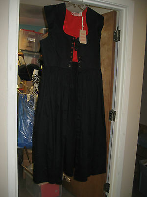 NWT Womens Museum Replicas Limited Country Maid Skirt w/ Bodice Overdress