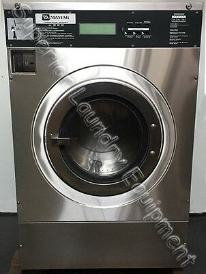 Maytag MFR30PDCTS Front-Load Washer, 30Lb, Coin, 220V, 1Ph, Reconditioned