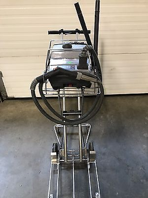 AmeriVap Commercial Steam Cleaner With Cart. Works Great.