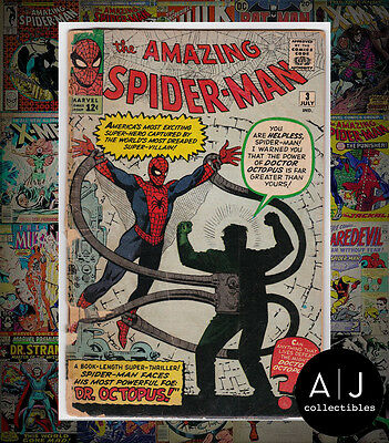 The Amazing Spider-Man #3 (Marvel) LOW GRADE! HIGH RES SCANS! SEE DESCRIPTION!
