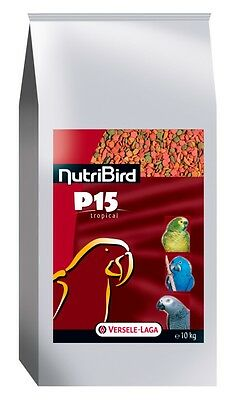NutriBird P15 Tropical 10kg Papageienfutter