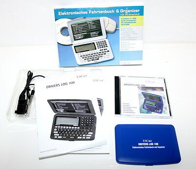 Electronic Logbook & Organziner with PC Plug