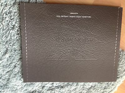 Aston Martin Accessories Brochure 2015