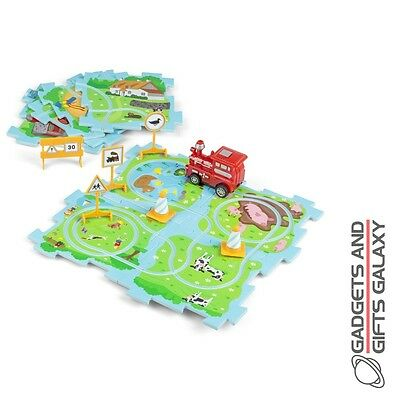 KIDS BUILD YOU OWN TRAIN VEHICLE PUZZLE Toys gifts games & gadgets