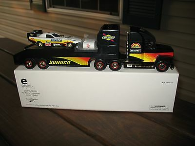 Sunoco 2000 GOLD Pro Stock Transporter w/Stock Car Limited Edition