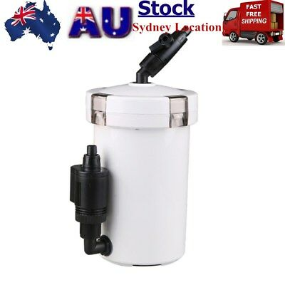 Aquarium External Canister Filter Fish Water Tank Sponge Pond AU STOCK