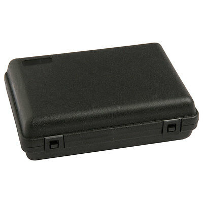HARD PLASTIC PISTOL GUN CASE Carry Box Holder Airsoft Airgun - SMALL