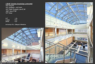 [New] Viracon Low-E Commercial Insulating Laminated Glass Skylights Coated