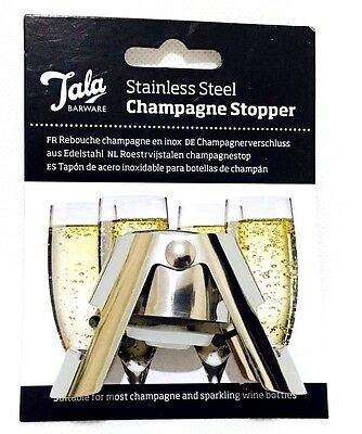 ORIGINAL Tala - Professional Quality Champagne Stopper - Wine Beer Rum ,Drinks