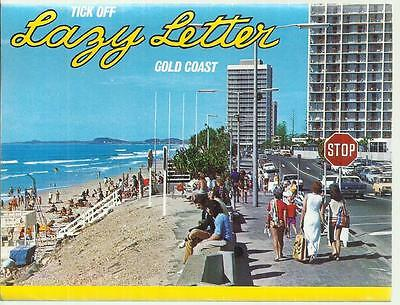 Fold Out Views Of The Gold Coast Qld Postcard
