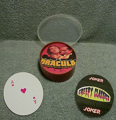 Dracula 2006 Creepy Classics Playing Cards  With Original Case