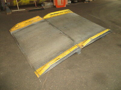 Magliner Magnesium 2 Part Dock Plate Ramp Used