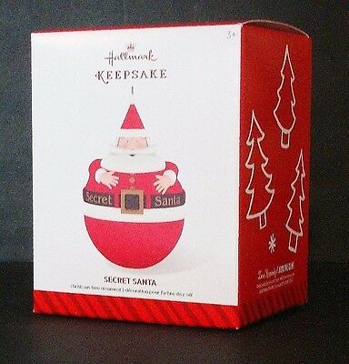 "Hallmark Keepsake ""SECRET SANTA"" Christmas Tree Ornament"