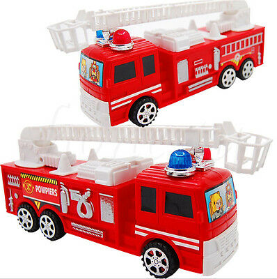 1pcs Fire Truck Large Fire Engine Vehicle Model Ladder Children Car Toy 2 Styles