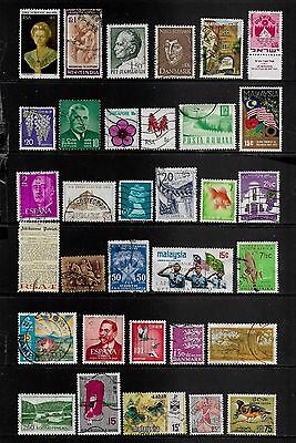 WORLD STAMPS - mixed collection, Lot No.112, all different