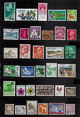 WORLD STAMPS - mixed collection, Lot No.113, all different