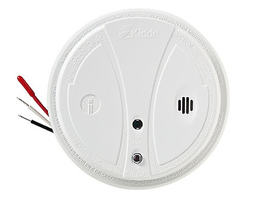 Kidde P1235CA 120v Smoke Alarm Direct Wire With Hush Button Ionization Test New