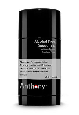 Anthony Logistics Alcohol Free Deodorant 70g