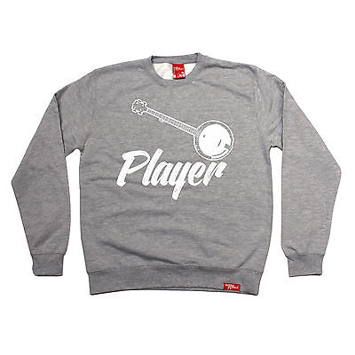 Banjo Player Banned Member SWEATSHIRT birthday gift music guitar string top