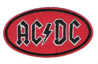 patch embroidered / écusson thermocollant AC/DC