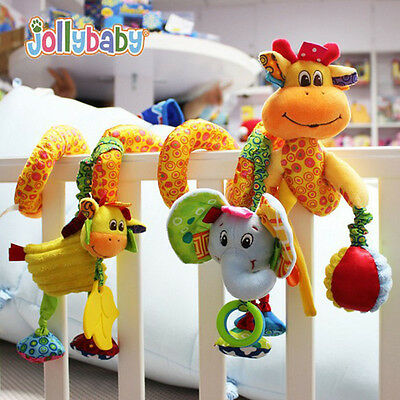 Baby Cot Spiral Activity Hanging Decoration Toys for Cot/Car Seat/Pram Gifts NEW