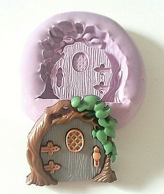 FAIRY DOOR Silicone Mould 30 mm Fondant Polymer Clay Resin PMC Sugarpaste