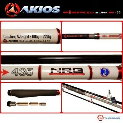 Akios Tournament Surfcasting Rod Airspeed Surf 435