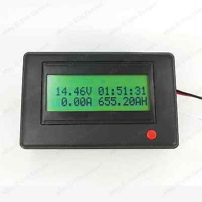 Bluetooth Battery Monitor 120V 20A Power Watt AH State of Charge Wireless