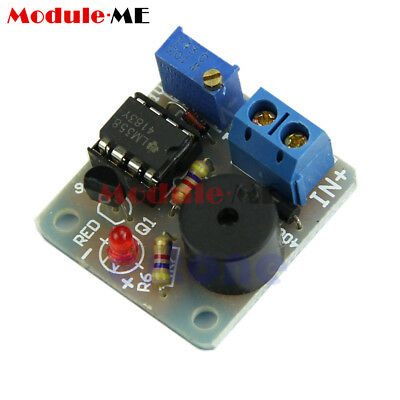 New 12V Accumulator Sound Light Alarm Buzzer Prevent Over Discharge Controller M